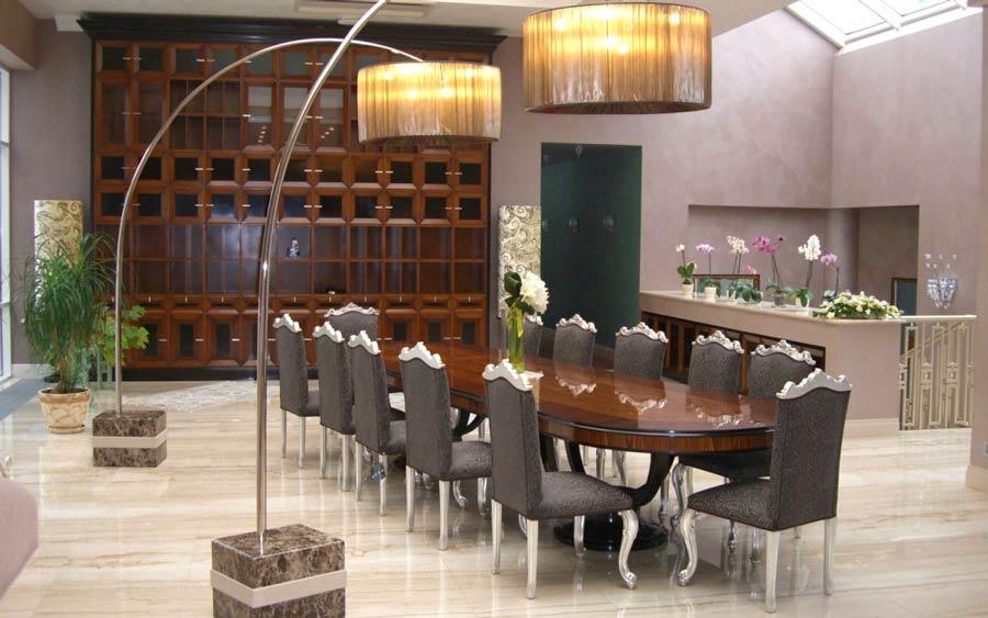 annibale colombo: interior-design-salone-villa-privata-foto-01