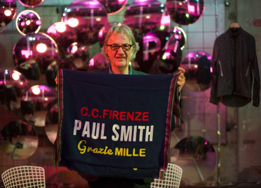 pitti immagine uomo-Paul Smith Pitti Immagine special guest_ credits Vanni Bassetti