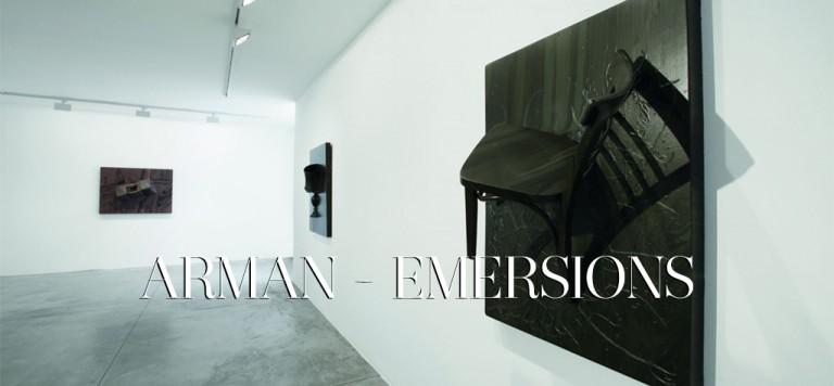 Arman-Emersions-galleria cardi-copertina