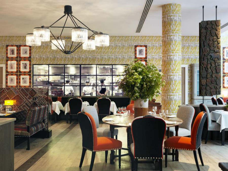 Ham Yard Design-Londra-Design-Hotel-Zona-Ristorante_3
