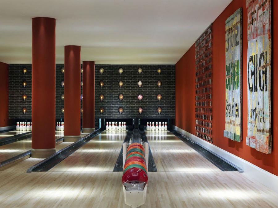 Ham Yard HotelLondra-Design-Hotel-Pista-Bowling_5