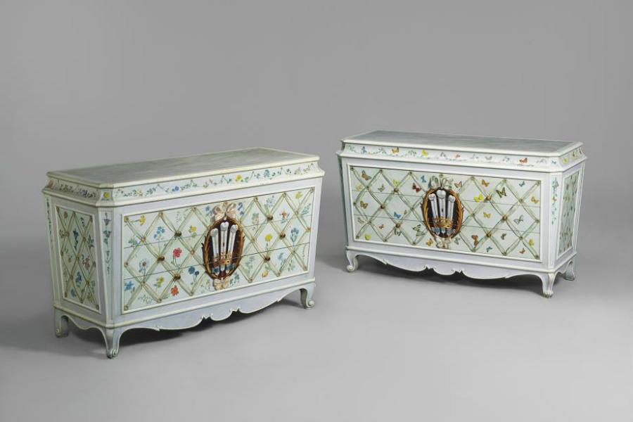 Maison Jansen-Interior-Design-Comodini-Polychrome-Painted-Duca-Duchessa-Windsor-1938_6