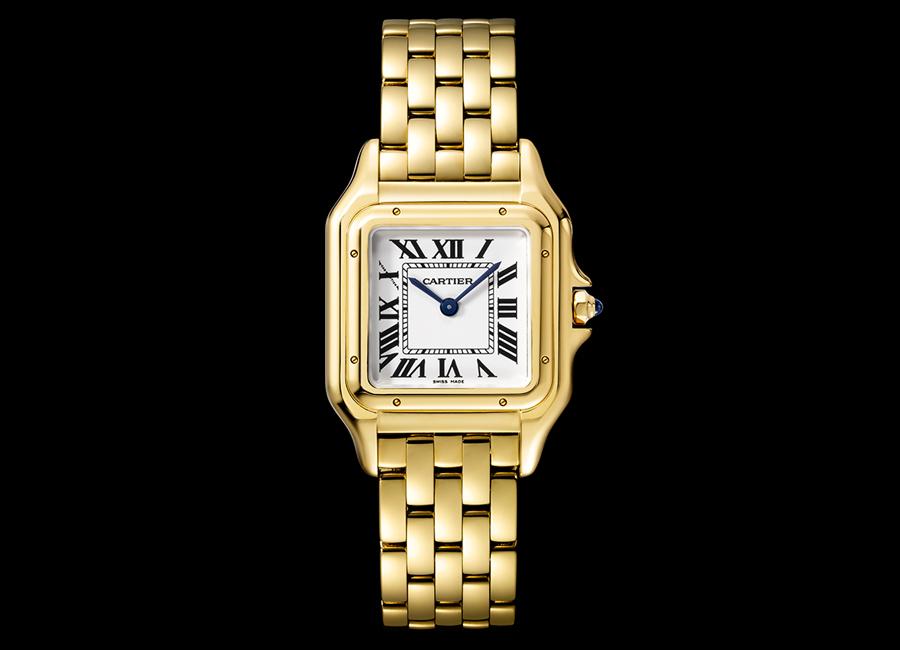 Panthere de Cartier-orologio-modello medio-oro giallo_01