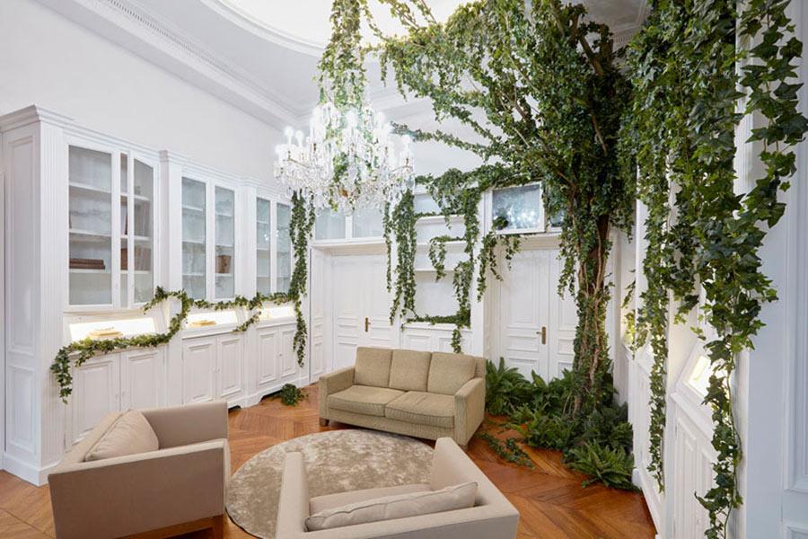 Boucheron trionfo della natura in lierre de paris for Paris vendome gioielli