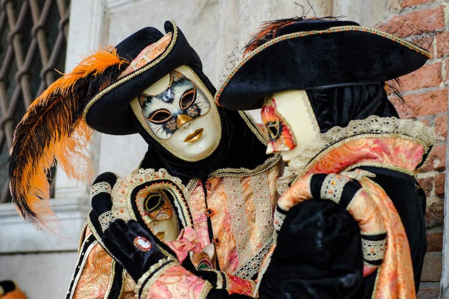 carnevale di venezia-maschera gnaga