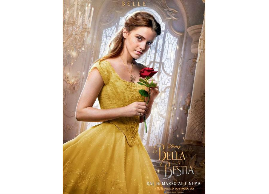 fiabe-Locandina Belle film Bella e la Bestia_ Disney