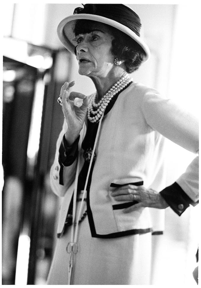 Portrait of Mademoiselle Chanel Douglas Kirkland Corbis_Credits Chanel
