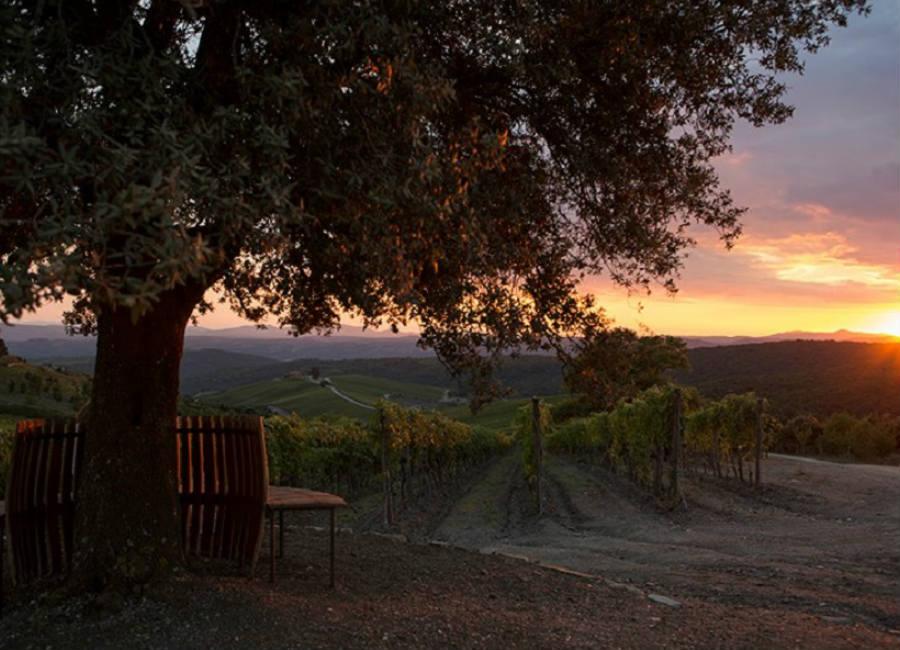 Castiglion del Bosco Golf Club-resort-luxury-toscana-paesaggio-tramonto