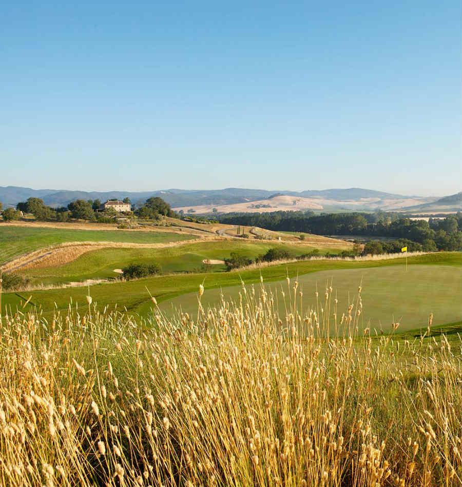 Castiglion del Bosco Golf Club-resort-luxury-toscana-campo-da-golf-dettaglio-paesaggio