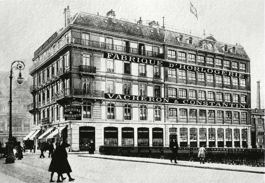 Vacheron Constantin-La Manifattura eretta nel 1872 da Jean-François Constantin, nipote di François Constantin, a Quai de l'Ile a Ginevra