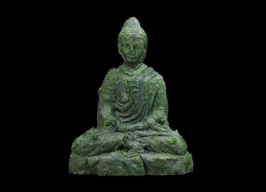 Damien Hirst-statua_Jade_Buddha-mostra-venezia