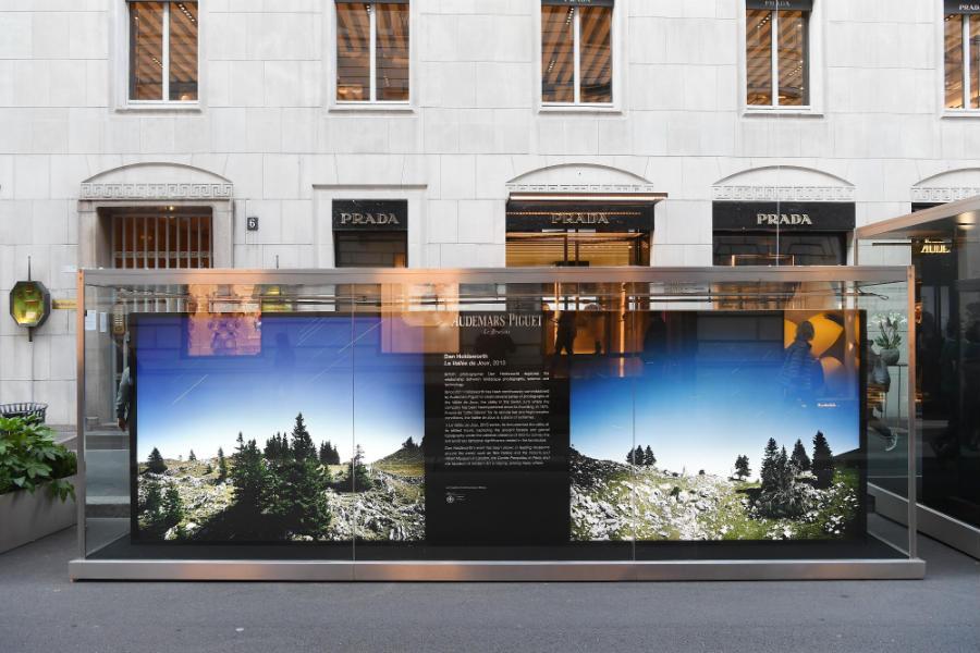 Dan Holdsworth-audemars piguet-la Vallee de Joux-The Art Projects-evento-monte-napoleone-milano-installazione-temporanea