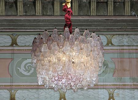 Paula Cademartori-lampada-poliedri-sospensione-venini