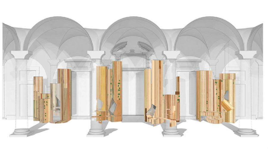 Salone del Mobile-Too Good to Waste di Benedetta Tagliabue_bozzetto-installazione