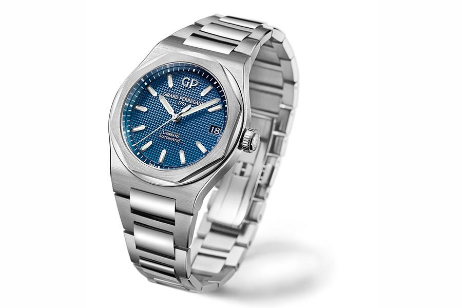 girard-perregaux-orologio-il-laureato-42-cinturino-acciaio