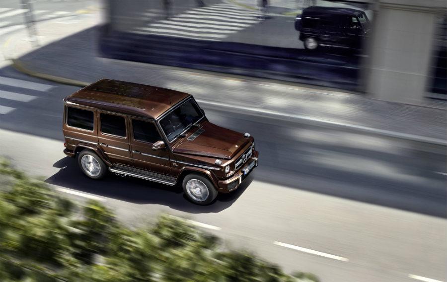 Classe G-Mercedes-Immagine-laterale-del-suv