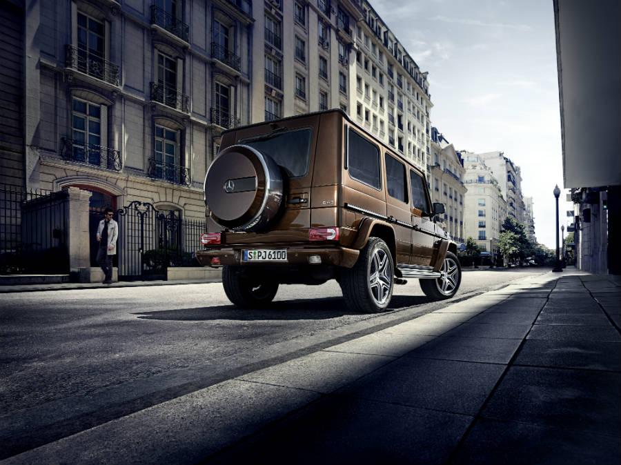 Classe G-Mercedes-Immagine-posteriore-del-suv