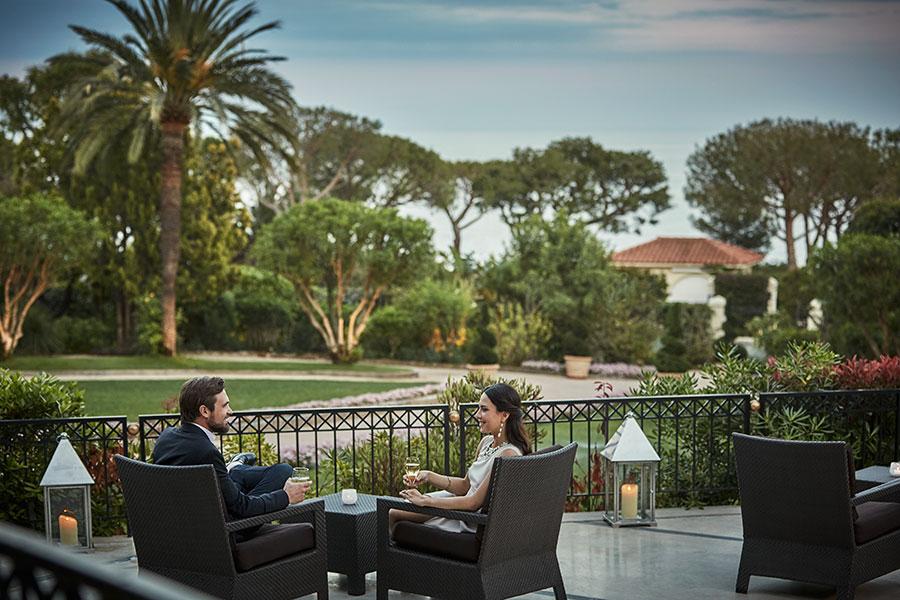 Grand-Hôtel du Cap-Ferrat-immagine di ospiti in relax