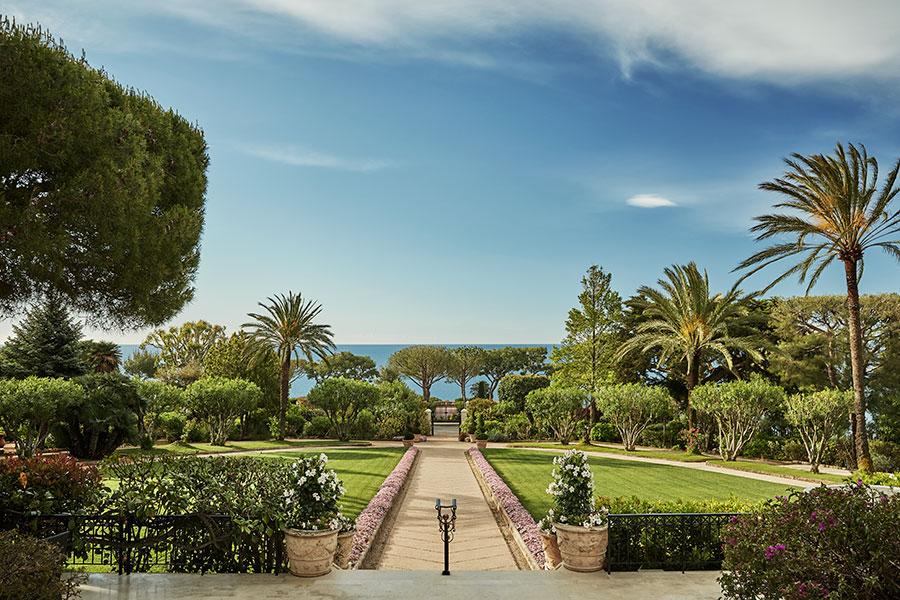 Grand-Hôtel du Cap-Ferrat-i giardini