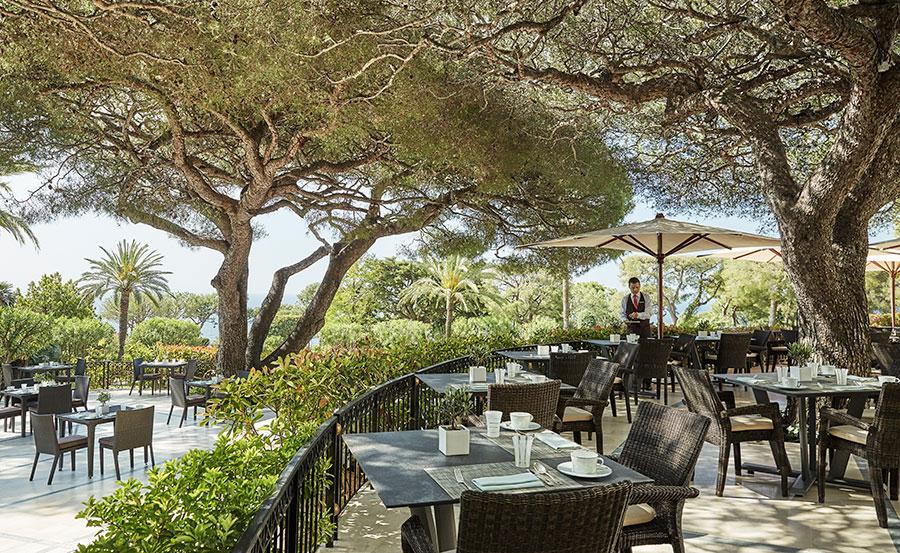 Grand-Hôtel du Cap-Ferrat-ristorante-la-veranda
