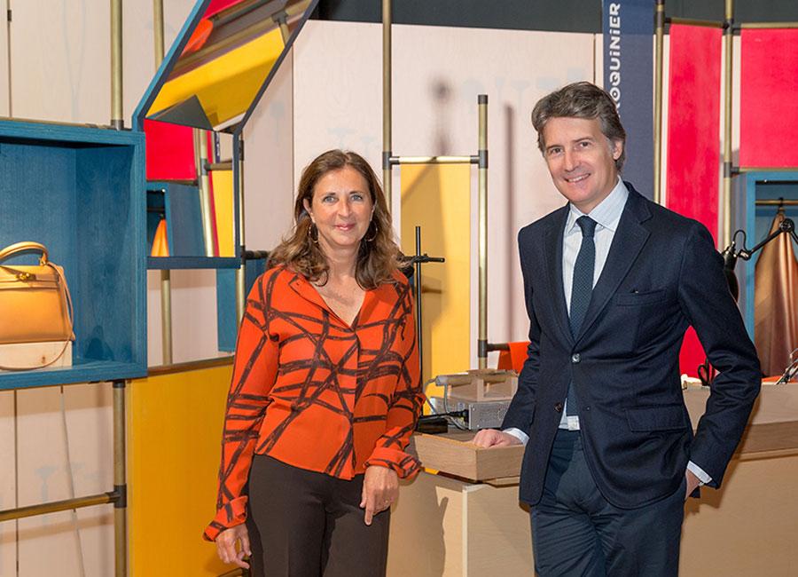 Hermès dietro le quinte_ Francesca di Carrobio e Henri Louis Bauer_ credits Hermès