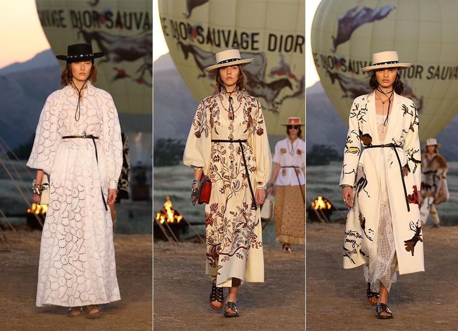 Dior Cruise 2018: 3 differenti look