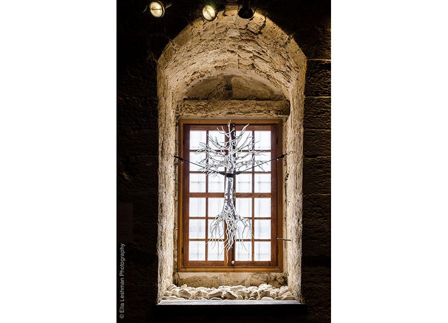 Simone Cristani: vetrata in vetro borosilicato