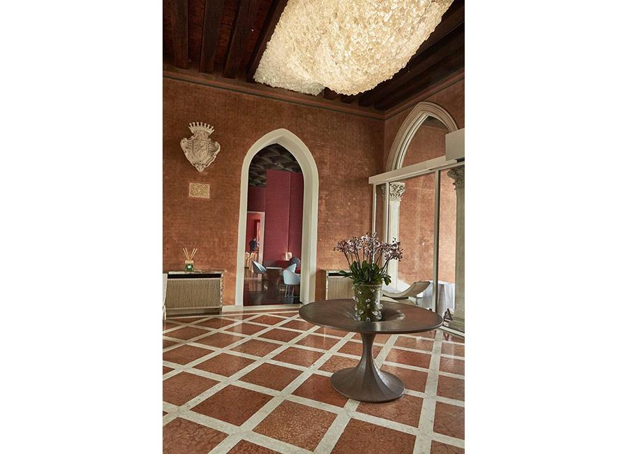 Sina Centurion Palace Hotel di Venezia-salottino interno che affaccia sul cortile