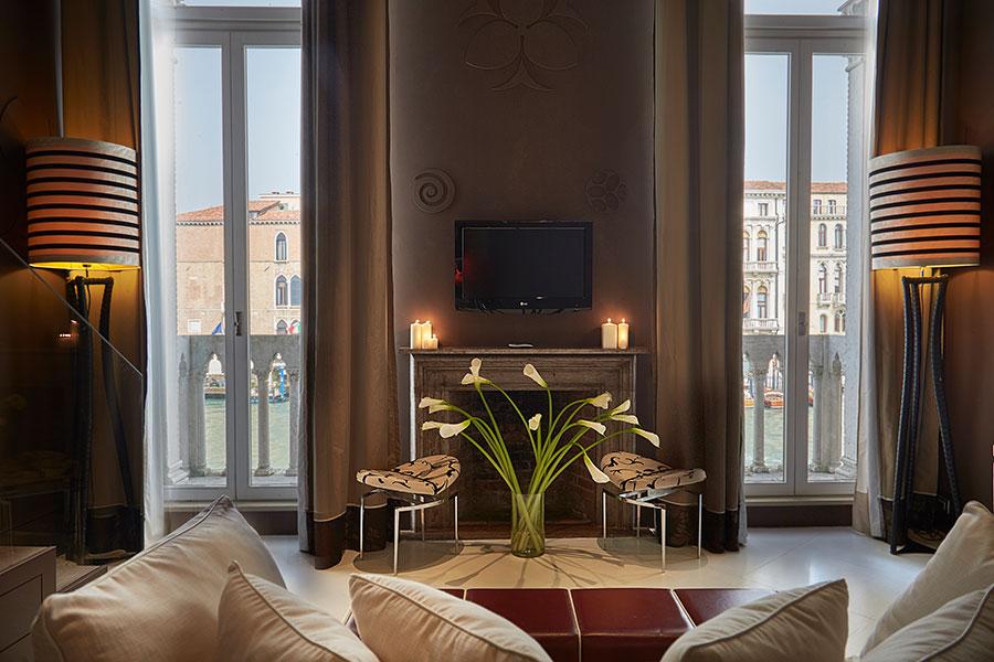 Sina Centurion Palace Hotel di Venezia-interno salottino