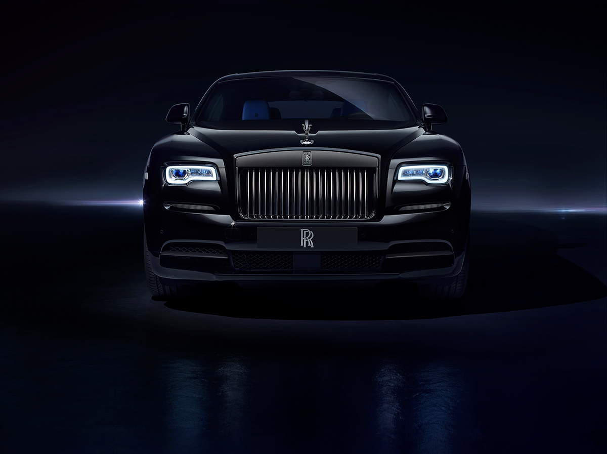 "rolls-royce_immagine dell'edizione limitata ""Black Badge"" di Ghost e Wraith"