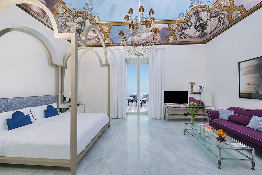 Bellevue-Syrene-hotel-sorrento-Deluxe suite