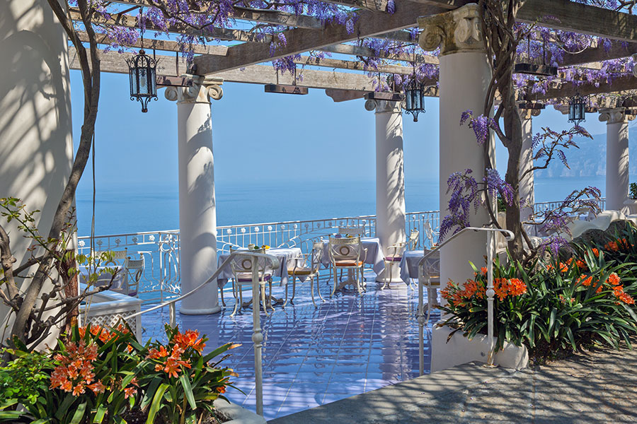 Bellevue-Syrene-hotel-sorrento-La pergola terrace