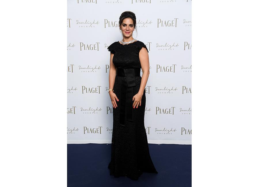 Chabi Nouri, il 13 giugno a Roma durante il Gala Dinner di Piaget per il lancio di Sunlight Journey