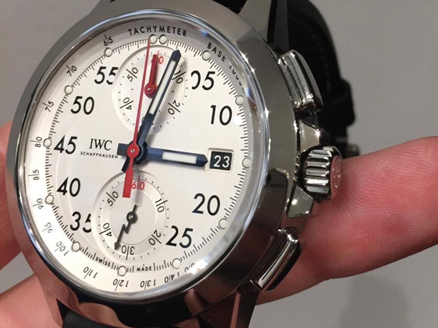 IWC-Ingenieur-Chronograph-Sport-Ref-IW380901-cassa bianca