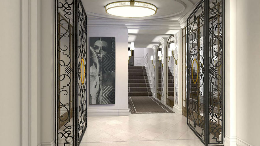 The-Arts-Club-Londra-area-ingresso-hotel