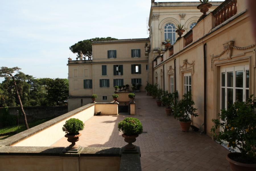 Villa-Aurelia-Roma-dimora-storica-terrazza