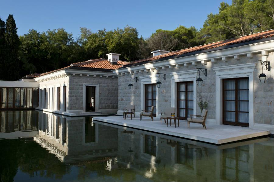 Sveti Stefan: Aman Spa Terrace