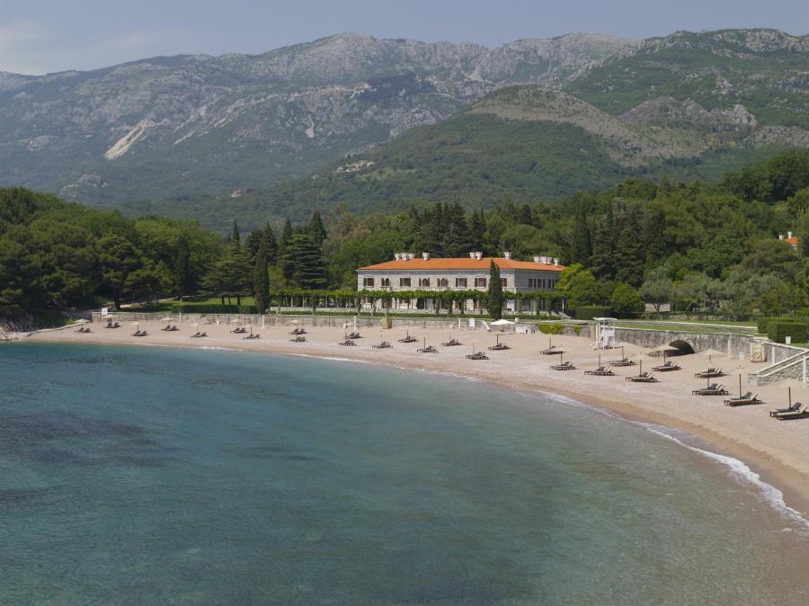 Sveti Stefan: Villa Milocer e la sua location