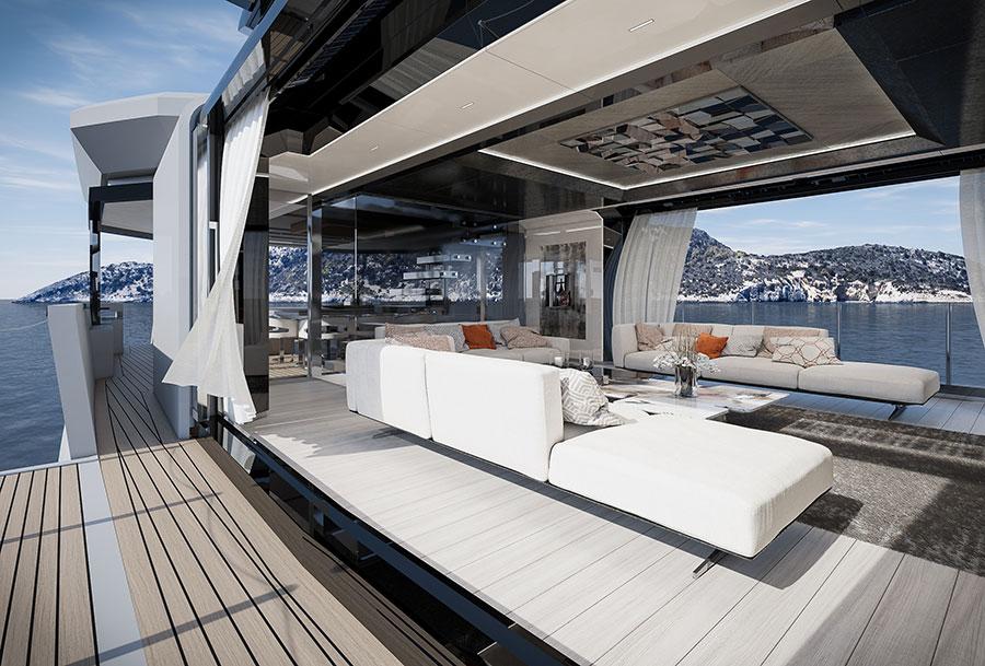 arcadia-yachts: immagine interna dello yacht