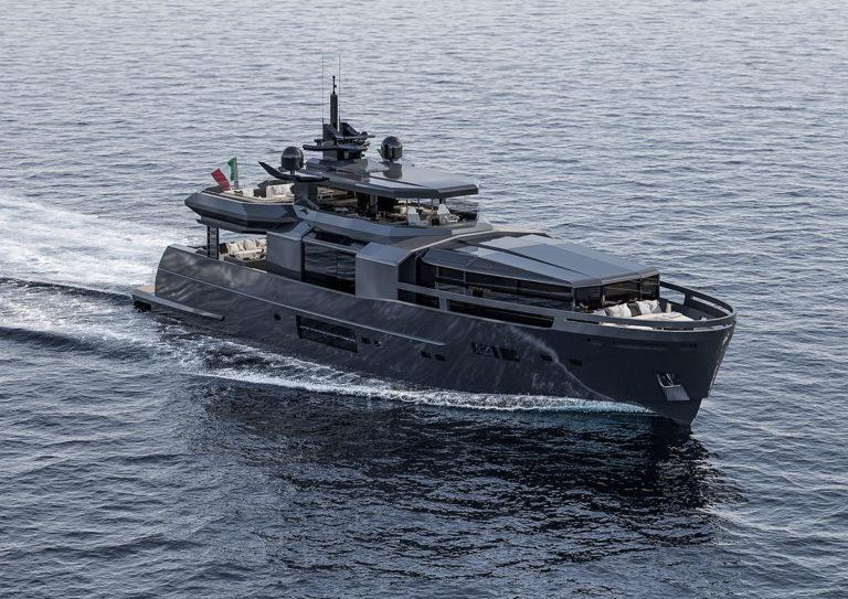 arcadia-yachts: immagine dello yacht in navigazione