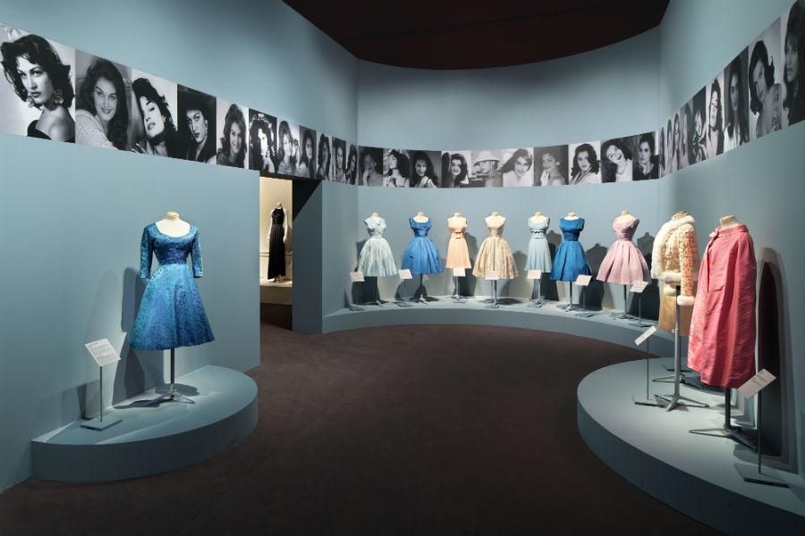 Dalida, une garde-robe de la ville à la scène - abiti esposti nelle sale di Palais Galliera di Parigi