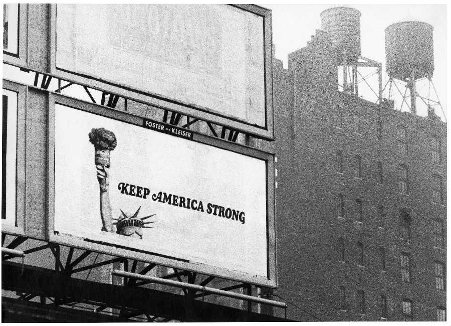 New York New York. Arte italiana: la riscoperta dell'America: quadro-Mulas_New York 346 347, 1964