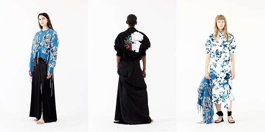 Pre-Collezioni 2018 - abiti floreali di Cédric Charlier