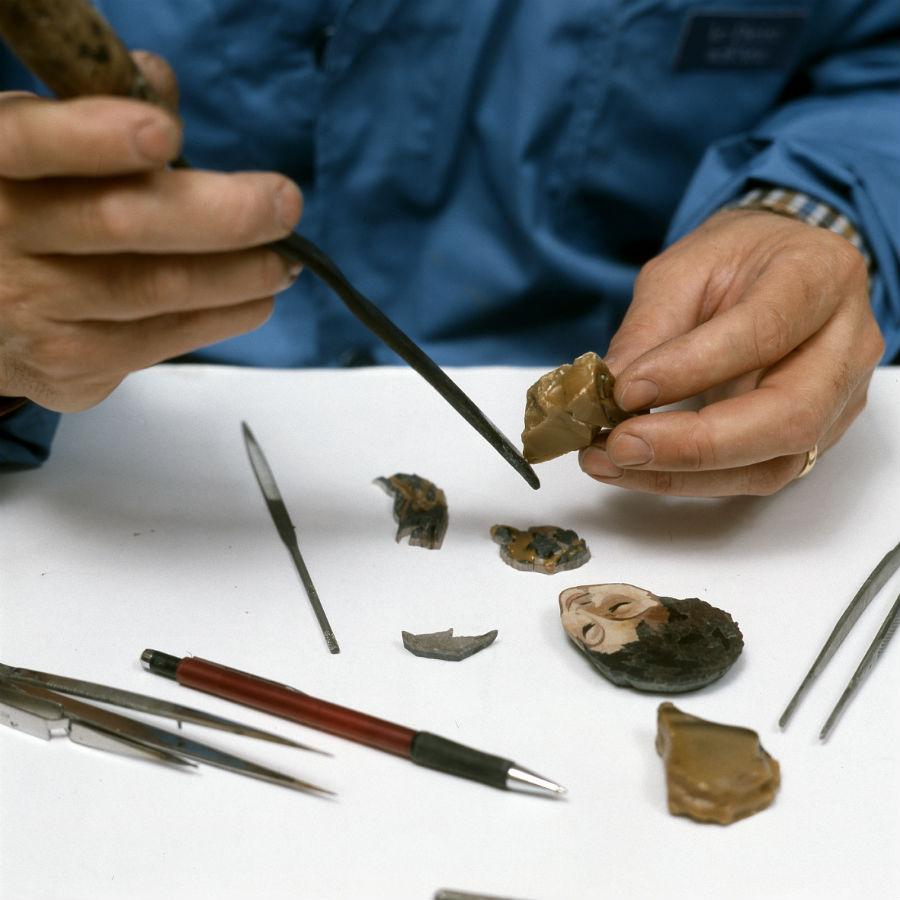 Scarpelli Mosaici: lavorazione delle pietre
