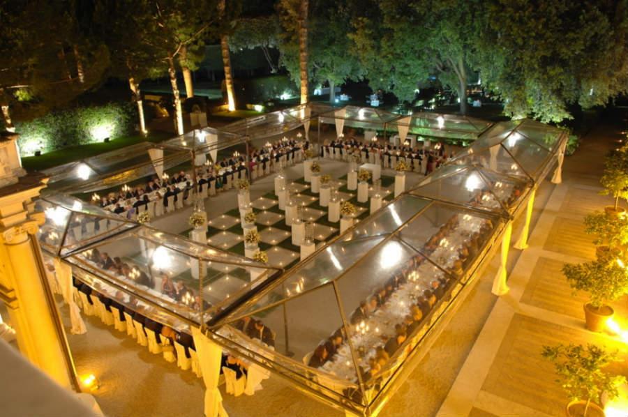 villa-aurelia-roma-dimora-storica-Area-ricevimento-giardino