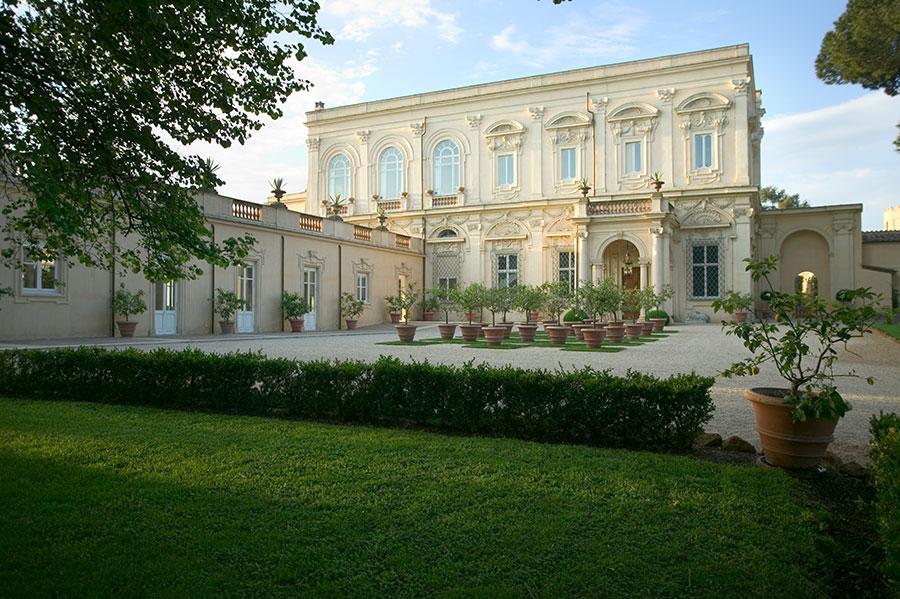 Villa Aurelia-Roma-veduta della villa dall'esterno