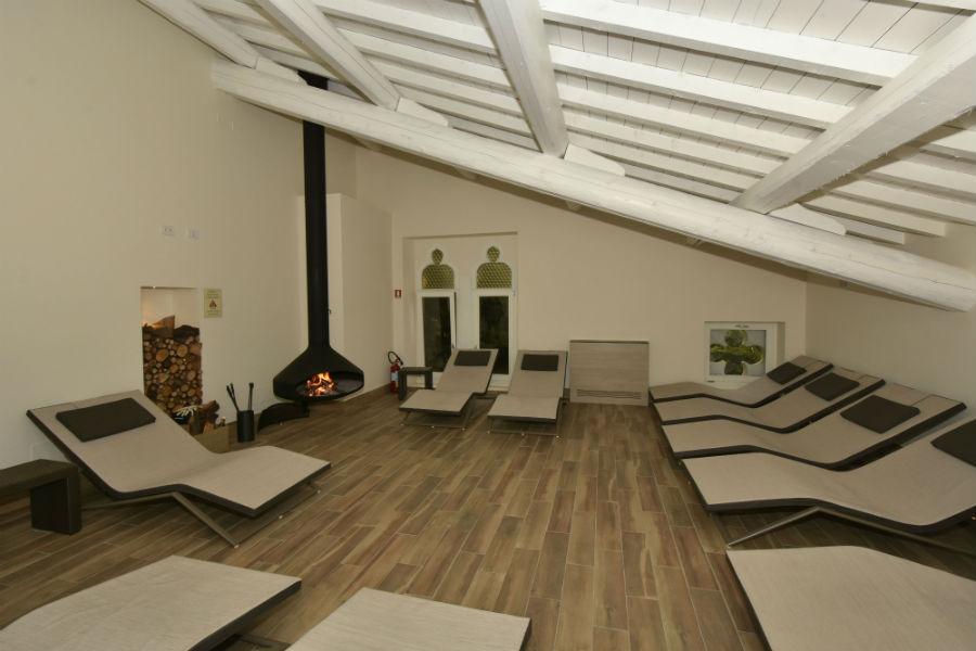 Villa dei Cedri - area relax all'interno della SPA
