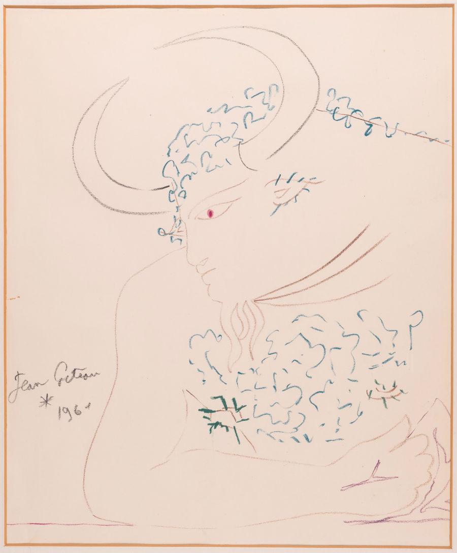 Lungarno Collection Hotel Firenze - Dipinto della Collezione Jean Cocteau