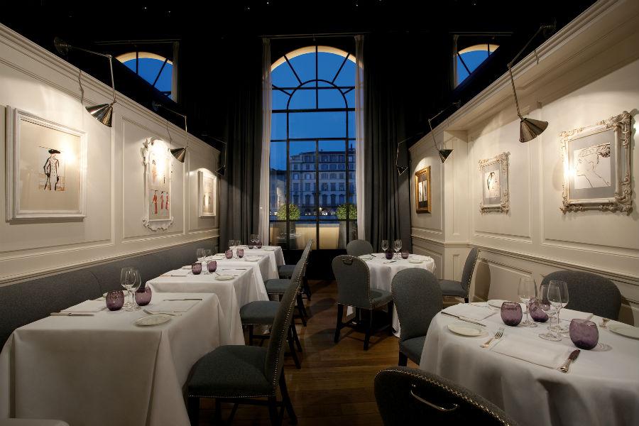 Lungarno Collection Hotel Firenze -Ristorante Borgo San Jacopo Interno