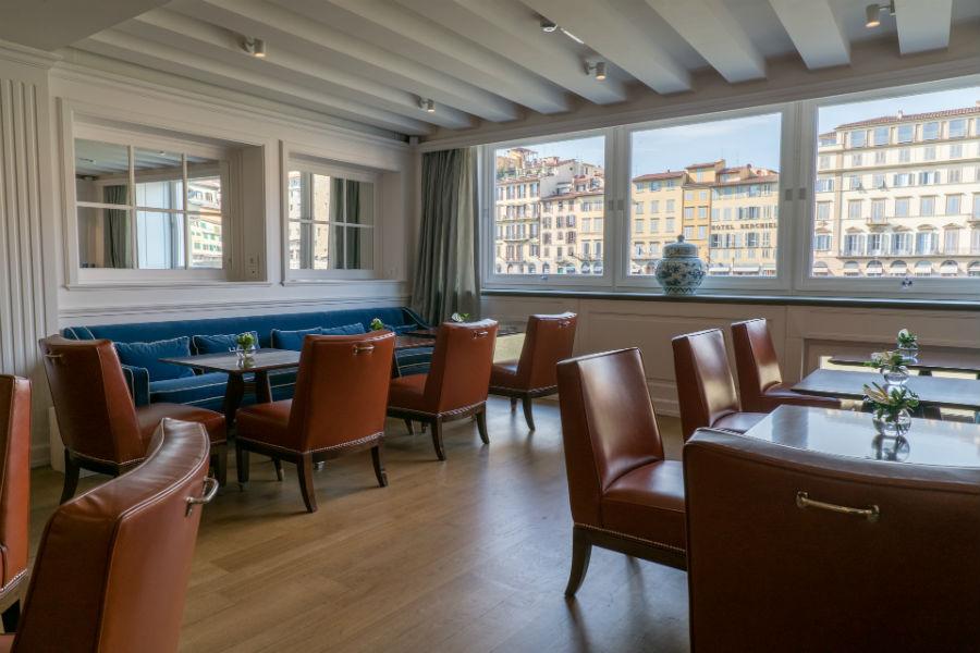 Lungarno Collection Hotel Firenze - Sala River con vista sull'Arno